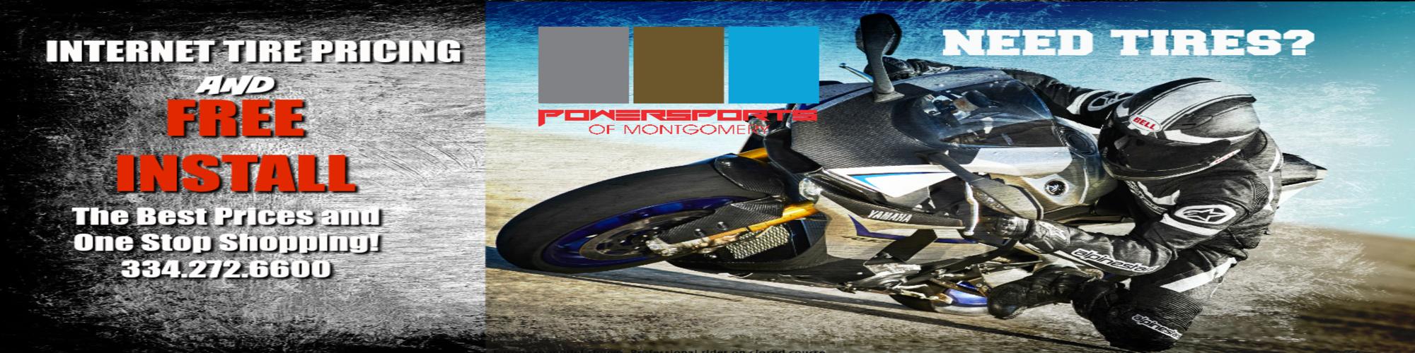Powersports of montgomery located in montgomery al for Honda yamaha montgomery al